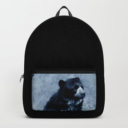 Black bear contemplating life Backpack