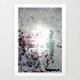 Hex Dust 3 Art Print