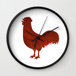 Alarm Clock Rooster 1 Wall Clock
