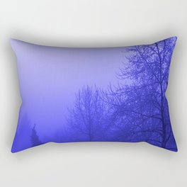 Into the Blue Rectangular Pillow