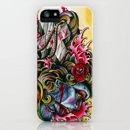 crossed gypsey iPhone Case