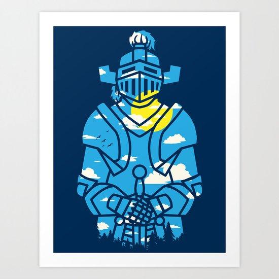 Day N' knight Art Print