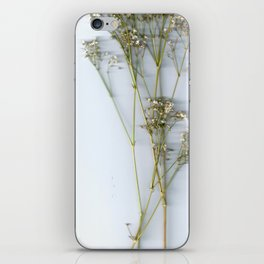 Dry Whites / Flowers iPhone Skin