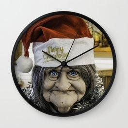 Christmas Grandma Wall Clock