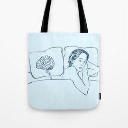 Insomnia Diary, Blues Tote Bag