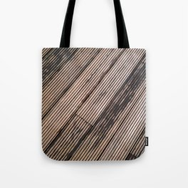 Lines at the ground Tote Bag