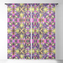 Kaleidoscope Eyes Sheer Curtain