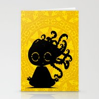 yoga Stationery Cards featuring Yoga by BLOOP