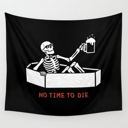 No Time to Die Wall Tapestry