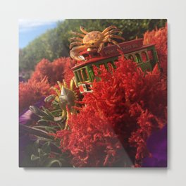 The Crustaceans & The Cable Car Metal Print