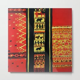 The Great Nagas Of India Metal Print