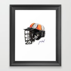 Princeton Bucket Framed Art Print