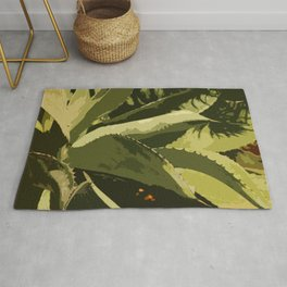 Agave Abstract Rug