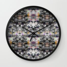 Bricolage of the Present(s) II Wall Clock