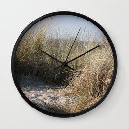 Wild Landscapes at the coast 2 Wall Clock