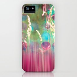 The Sound of Light and Color - Herbage iPhone Case