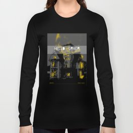 HelloHorror Issue 3 Cover - Haunted House Long Sleeve T-shirt