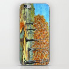Autumn landscape 3 iPhone & iPod Skin