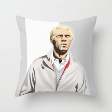 Steve McQueen Throw Pillow