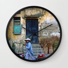 Vietnamese Street Sound Wall Clock