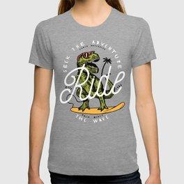 Dinosaur Surfer T-shirt