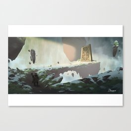 Valhalla Doors Canvas Print