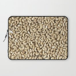 Cashew. Background Laptop Sleeve