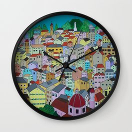 Corfu Town Wall Clock