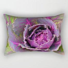 Veins of Purple Rectangular Pillow