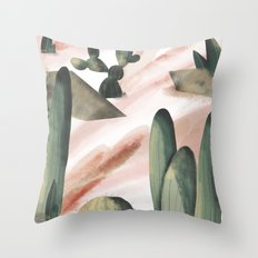 Pasancana & Quehualliu Throw Pillow