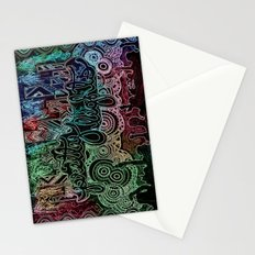 All of the Glowing Lights Stationery Cards