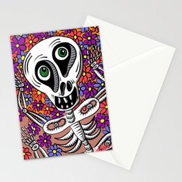 Shermy in Flowers Stationery Cards