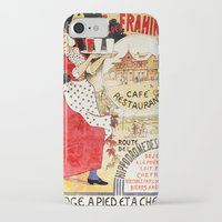 cafe iPhone & iPod Cases featuring Cafe by Artzology