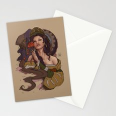 Beauty and the Beast Flat Art Stationery Cards