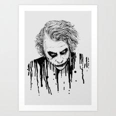 The Joker Art Print
