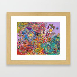 Kaleidoscope of All Possibilities Framed Art Print