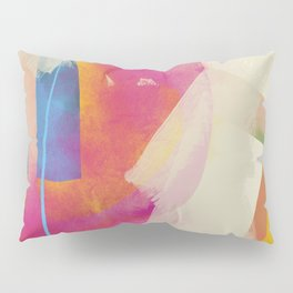 the window to my garden - minimal color abstract modern art Pillow Sham