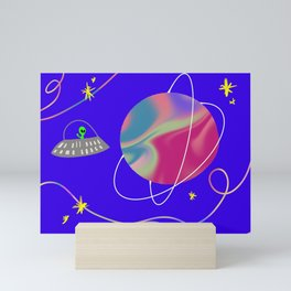 Space Mini Art Print