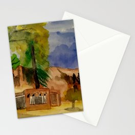 Ghost Ranch Landscape Stationery Cards