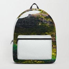 green tropical mountains at Kauai, Hawaii, USA Backpack