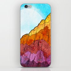 The Tall Cliff iPhone Skin