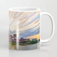 nashville Mugs featuring Nashville Sunset by TFD Studio