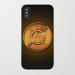 Orange Lantern Corp (Avarice) iPhone Case