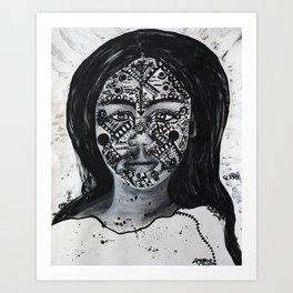 Diana of the Amazon Art Print