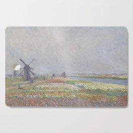 Tulip Fields near The Hague Cutting Board