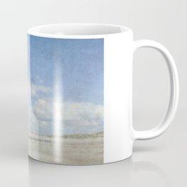 Talacre lighthouse textured Coffee Mug