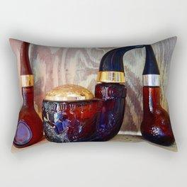 Glass Pipe Bottles Rectangular Pillow
