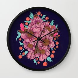 As You Fall Into Me Wall Clock