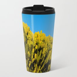 The sun shines and the moon watches Travel Mug