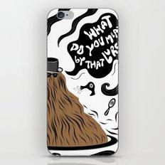 Cousin Itt (Addams Family) iPhone Skin